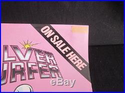Marvel Comics Silver Surfer 1981 John Byrne Unused Promo Poster rare