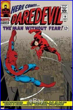 Marvel Daredevil #16 Comic Book Cover Poster Giclee Print Art 16x24 Mondo