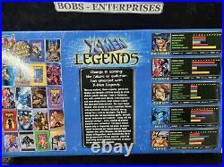 Marvel Legends X-Men Legends 5 Figures & Poster Book (ToyBiz, 2003)NIB lb-11