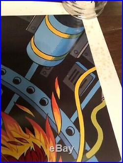 Marvel Mystery Comics 66 Human Torch Poster Print Alex Schomburg 1984 23x29