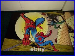 Marvel Poster Book & Mag. 1st Spiderman Todd Mcfarlane + Delarosa Bagley's Promo
