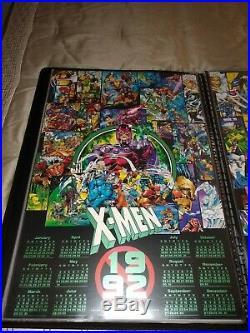 Marvel X-Men X Force Vintage Comic Calendar Posters 24x36 Jim Lee Rob Liefield