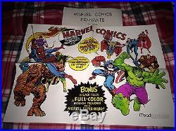 Marvelmania! Original Marvel Poster 1975