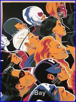 Matt Taylor Signed Avengers Mondo Print Comic Book Poster Art Infinity War SDCC