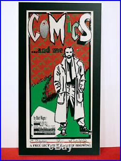 Matt Wagner signed numbered print #2 of 25 Comics. And Me Grendel Mage 1990