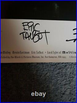 Melting Pot #1-4 & Signed Poster Kevin Eastman Simon Bisley Eric Talbot