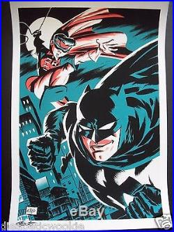 Michael Cho Batman and Robin DC Dark Knight comic book MOVIE art Print Poster