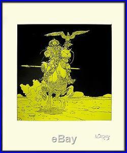 Moebius -giraud Sinjuku Serigraphie Exemplaire Signé (editions Aedena)