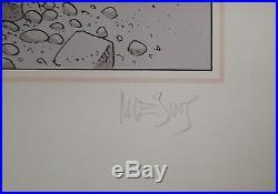 Moebius sérigraphie Walls n/260, signée 55X75 Parfait état