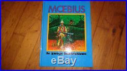 Moebius -t1le Garage Hermetique + Poster Pieds Jaloux 1988 Ttbe