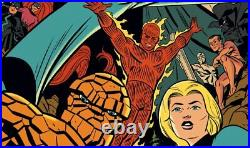 Mondo Fantastic Four Art Print Comic Book Poster By Michael Cho XX/250 Marvel