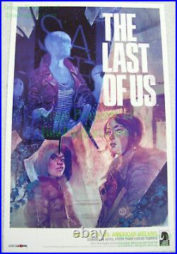 NITF The Last of Us American Dreams Poster Lithograph Never Sold Retail