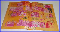 OZ MAGAZINE no. 13 R Neville LONDON 1968 comix WITH 4pg GOLD POSTER high grade