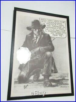 POSTER MANIFESTO LURID SCORPION MAGNUS cm 49,50 x 69,50 cm CORNO GADGET 1974