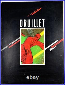 Philippe Druillet ROYAUMES D'OMBRES ET DE LUMIERE -Portfolio Temps Futurs 1980