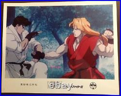 Photo de collection Street Fighter Archives vintage import Japon anime collector