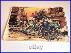 Poster Alan Ford Deflagrazione Nella Palestra Dardimento Del Gruppo Tnt Corno