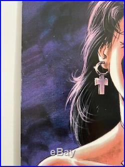 Poster Comics Razor 1/2 Linsner Hartsoe 1995 US RARE Cry for Dawn