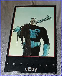 Punisher 1991 MOEBIUS Jean Giraud Frank Castle Marvel Press Poster VF