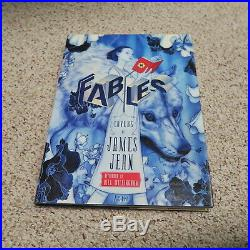 RARE FIRST EDITION Fables Covers The Art of James Jean Poster Prints Comic