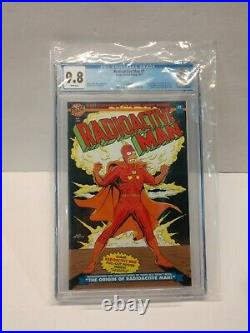 Radioactive Man #1 1993 CGC 9.8 Glow-in-the-Dark Cover & poster White Pages