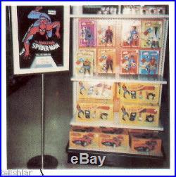 Rare 1977 Marvel Comics Spider-Man Appearance Poster John Romita Art Marvelmania