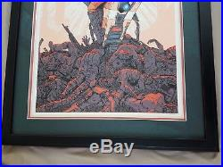 Rare! Lilith Borderlands Poster Lithograph Claptrap! 250 in the World