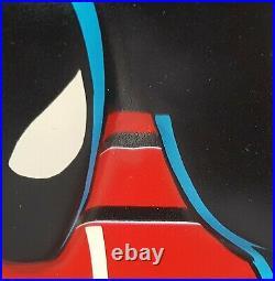 Rare Vtg 1986 Black Suit Promotional 3D Spider-Man Comic Book Shop Store Display