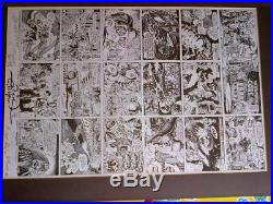 Rare Zap Comix Jam Poster 1989 Signed By All 7 Artists