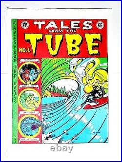 Rick Griffin Tales From The Tube Silkscreen Poster Comic Book Cover Mint Zap LE#