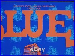 Robert Crumb Poster Rare Limited Original Blues Against Blindness 1992