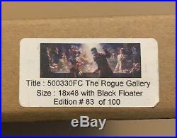 Rogues GalleryFramed Canvas Sideshow Exclusive83/100BatmanJokerHarley Quinn