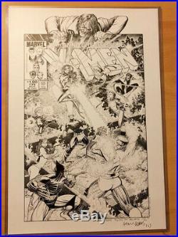 SDCC 2015 ARTHUR ADAMS X-Men art print 13x19 poster SIGNED 175 EXCLUSIVE Marvel