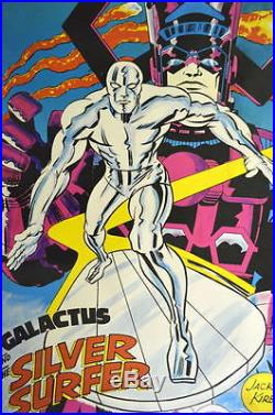 SILVER SURFER & GALACTUS POSTER MARVELMANIA 1970 Jack Kirby Art Mail Order ONLY