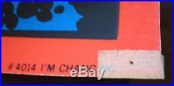 SILVER SURFER I'm Changing (1971) MARVEL THIRD EYE black light poster TE 4014