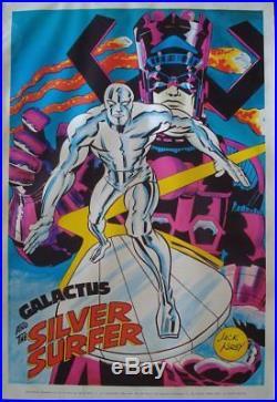 SILVER SURFER MARVELMANIA 1970 Vintage Marvel comics poster 23x35 JACK KIRBY