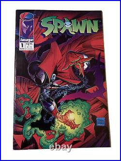 SPAWN #1 Comics 1st Issue SPAWN 1992 IMAGE COMICS SPAWN POSTER INCLUDED NEW
