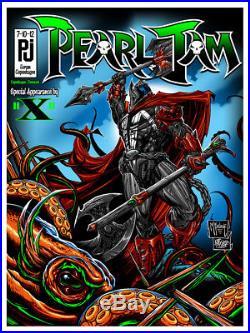 SPAWN McFarlane x Pearl Jam x MAXX242 VS Series Copenhagen Gig Poster NEW