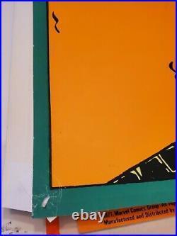 SPIDERMAN THWIPP MARVEL THIRD EYE Black light poster TE4016 GIL KANE