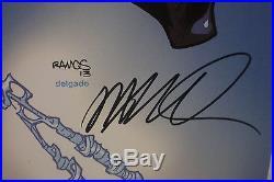 STAN LEE/HUMBERTO RAMOS Signed SPIDER-STAN(Spider-Man) Art Print 19x13 JSA COA