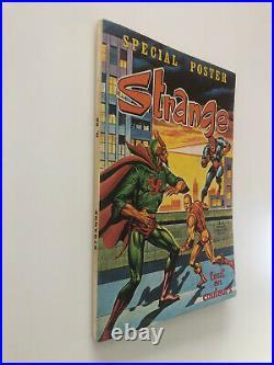 STRANGE N° 52 E. O LUG 1974 avec son POSTER Authentique SPIDERMAN