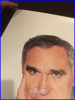 SUPREME Morrissey Authentic Poster 24x36 Street Promo Not Pasted