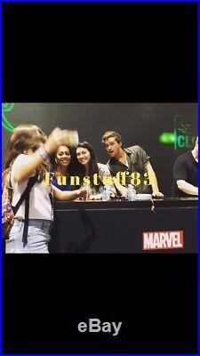 San Diego comic con 2018 marvel comics Iron Fist cast signed Marvel premiere 15