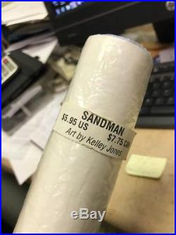 Sandman and Death poster by Kelly Jones vertigo DC Rolled New Rare 1991