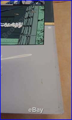 Sérigraphie JACOBS Blake et Mortimer SX1 70x100