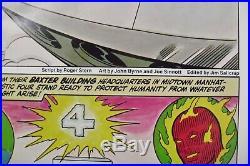 Set 3 Coca-Cola posters Origin of AMAZING SPIDER-MAN FANTASTIC FOUR, HULK Marvel