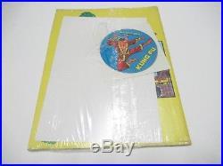 Shang-chi N. # 1 Blisterato Adesivi Poster Manifesto Gadget Corno 1975 Sigillato