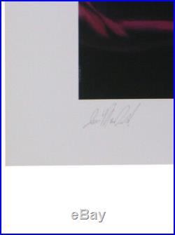 Sideshow Collectibles Psylocke Premium Art Print X-Men Marvel Sample Rare
