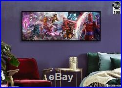 Sideshow Exclusive X-men A Legend Reborn Framed Canvas Art Print! After Jim Lee