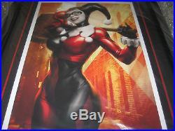 Sideshow Harley Quinn FRAMED Premium Art Print DC Comics Stanley Lau Artgerm 207